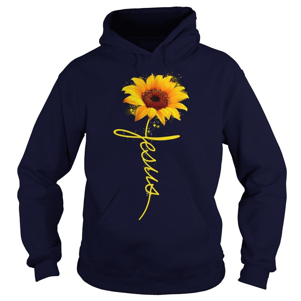 Sunflower Jesus shirt hoodie