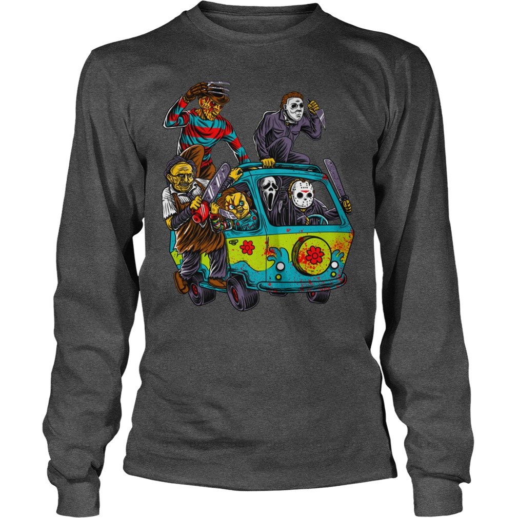 The Massacre Machine Horror Scooby Doo Version shirt unisex longsleeve tee