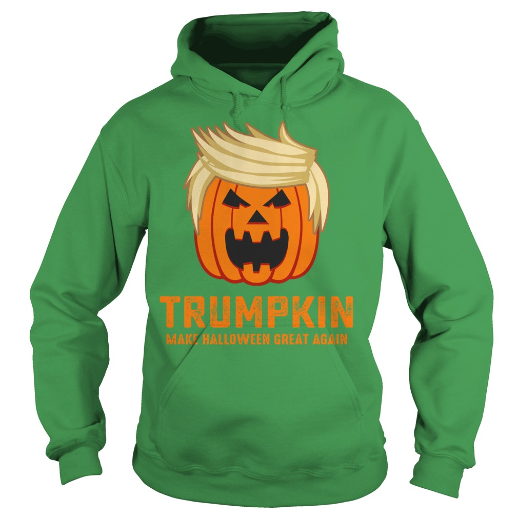 Trumpkin make halloween great again shirt hoodie