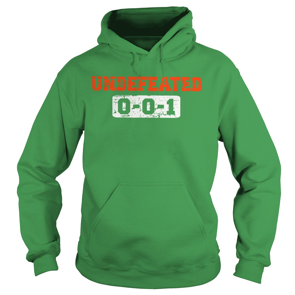 Undefeated 001 shirt hoodie