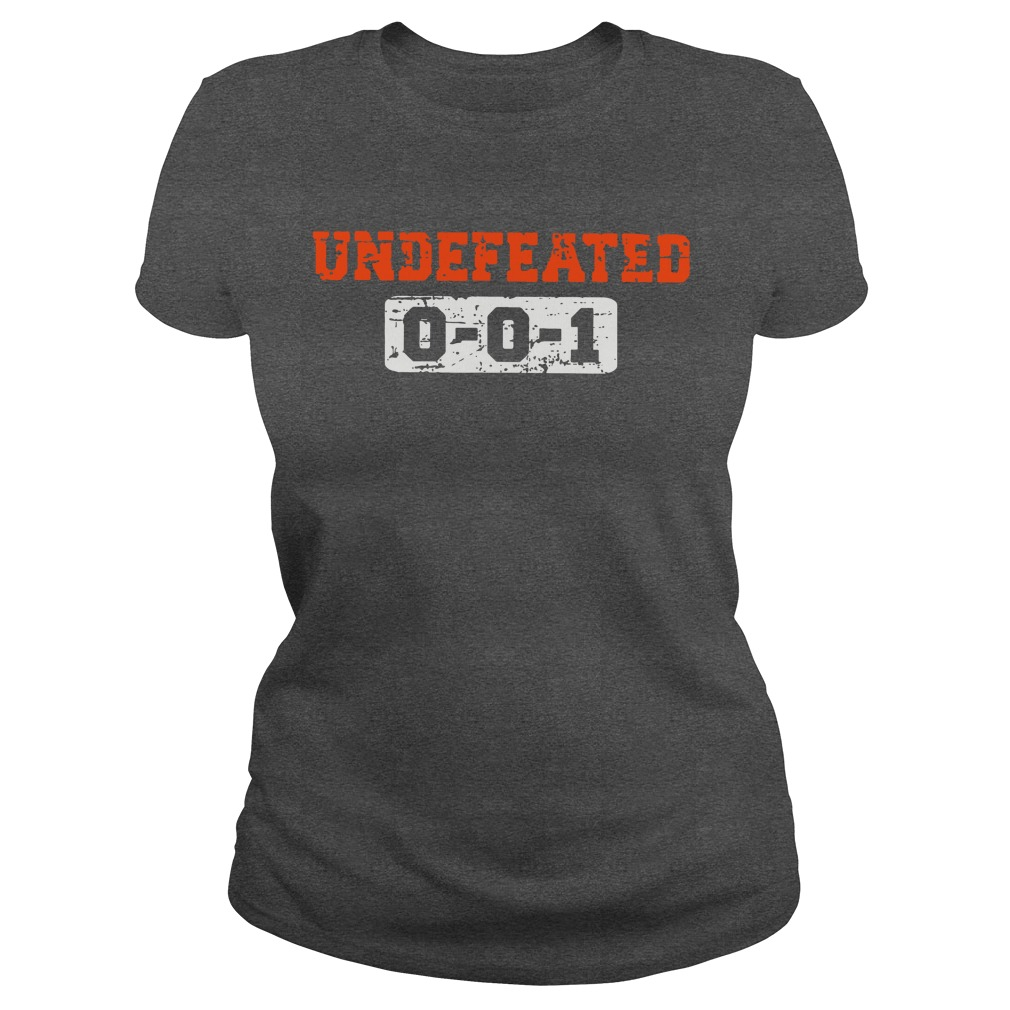 Undefeated 001 shirt lady tee
