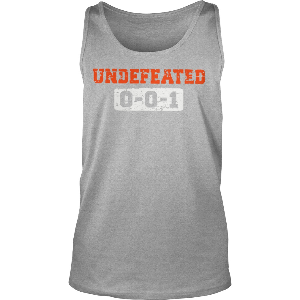 Undefeated 001 shirt unisex tank top