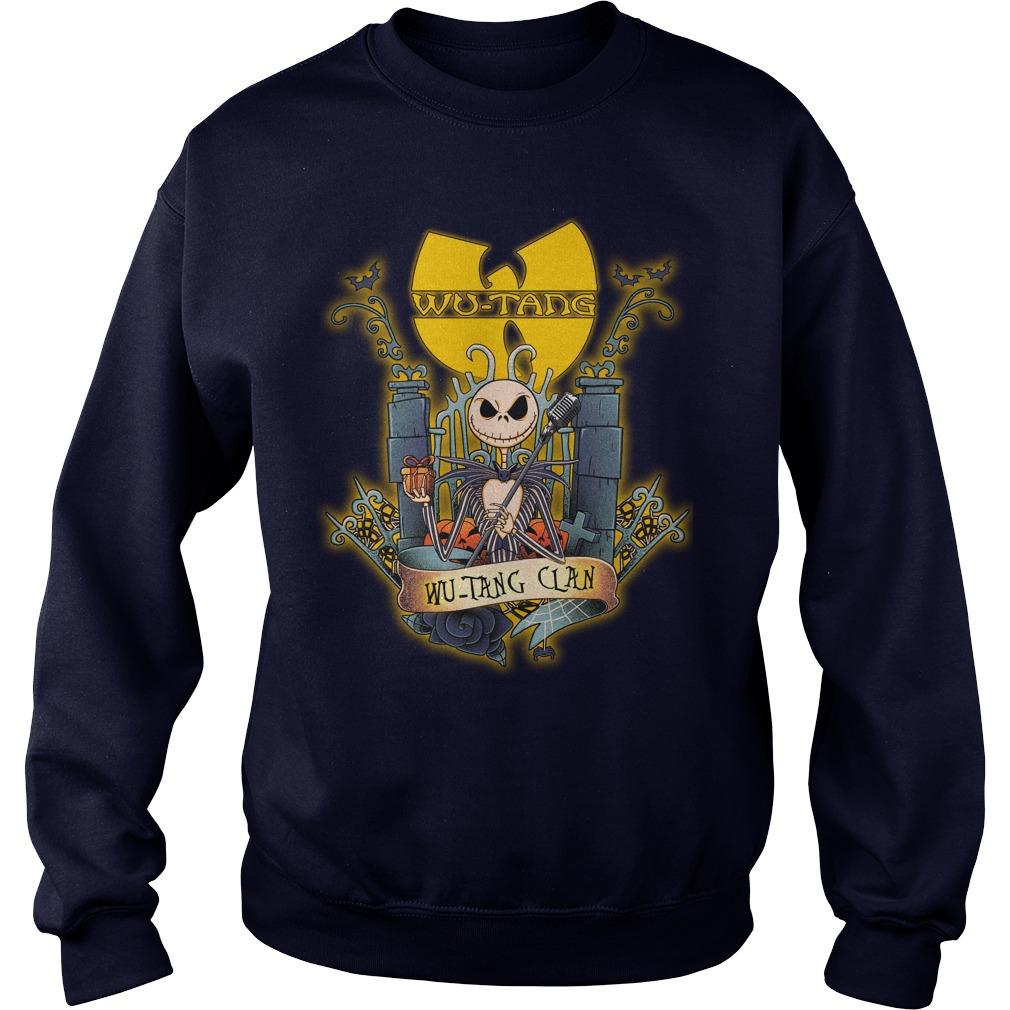 Wu-Tang Clan Jack Skellington shirt sweat shirt