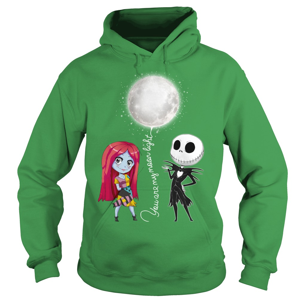 You are my Moonlight Jack Skellington Nightmare shirt hoodie