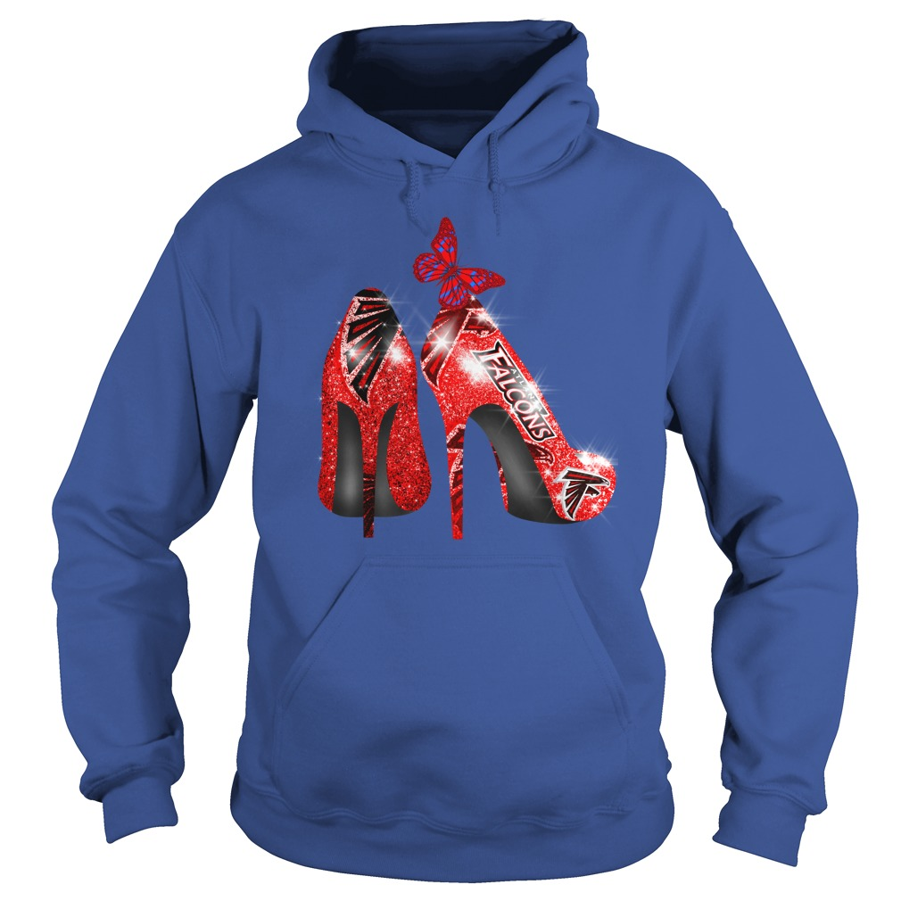Atlanta Falcons Rhinestone High Heels shirt hoodie