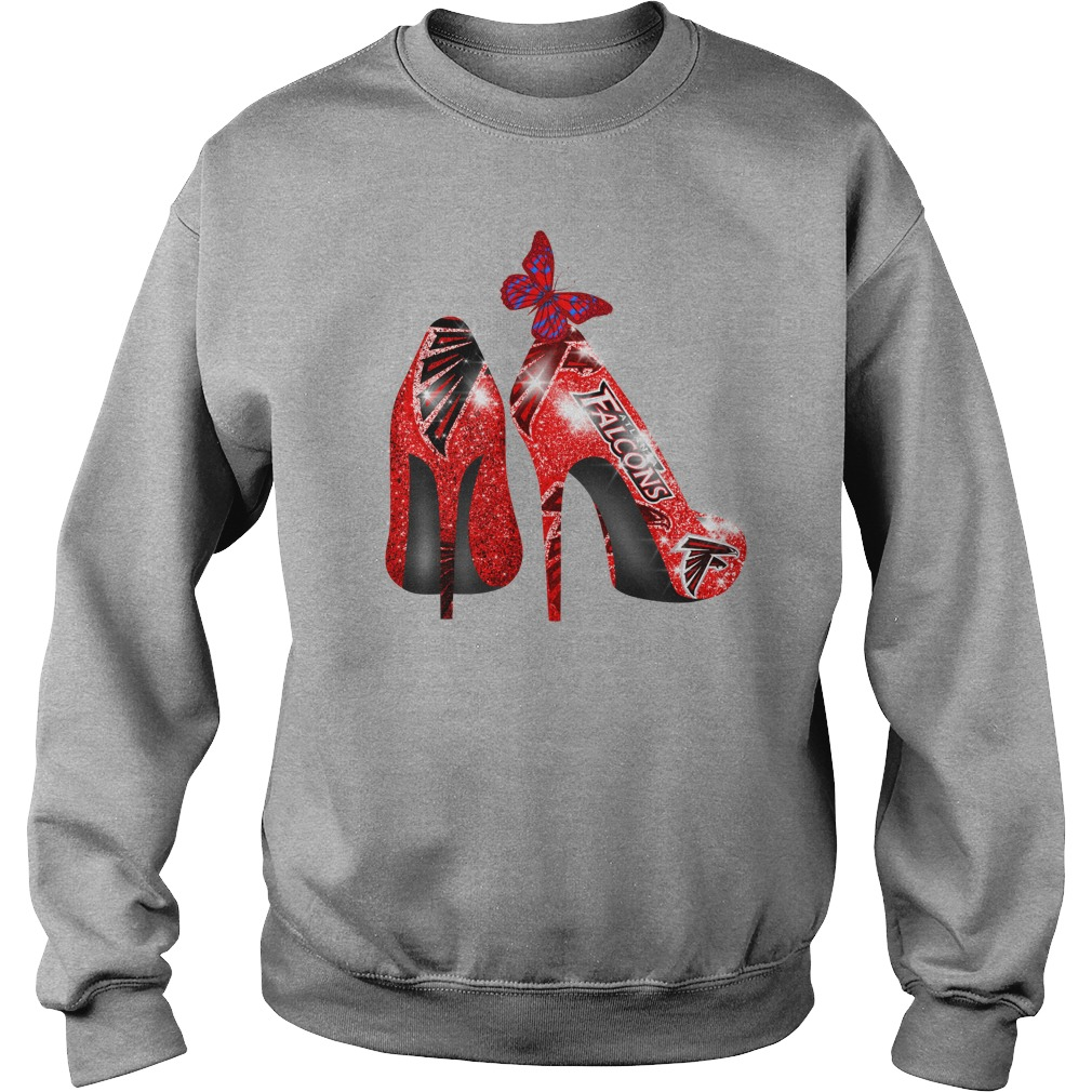 Atlanta Falcons Rhinestone High Heels shirt sweat shirt