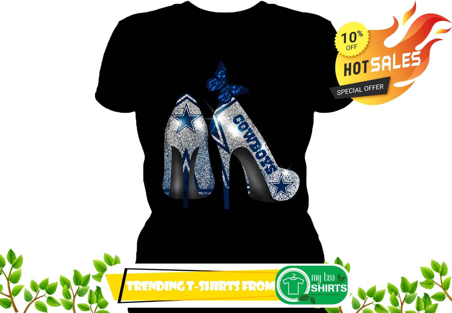 Dallas Cowboy Rhinestone High Heels shirt fa4b2e1cb
