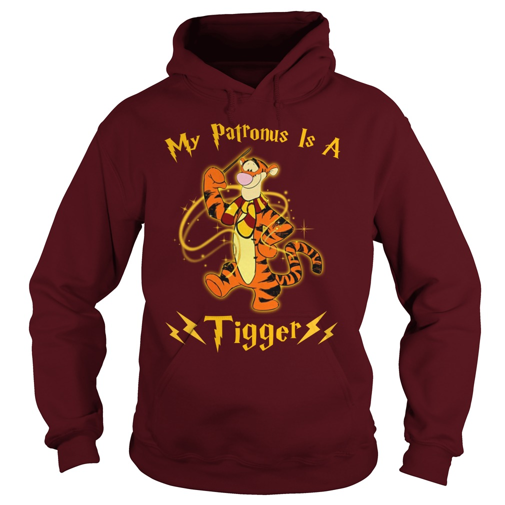 Harry Potter My Patronus is a Tiger shirt hoodie