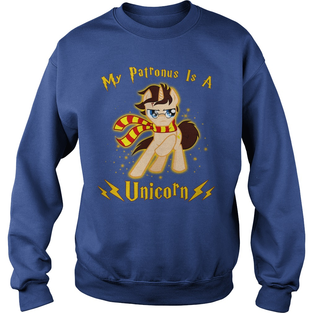 Harry Potter My Patronus is a Unicorn shirt sweat shirt