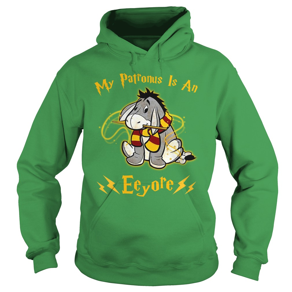 Harry Potter My Patronus is an Eeyore shirt hoodie