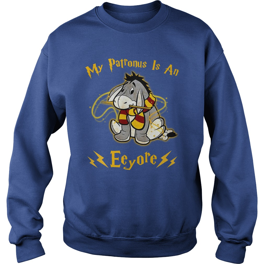 Harry Potter My Patronus is an Eeyore shirt sweat shirt