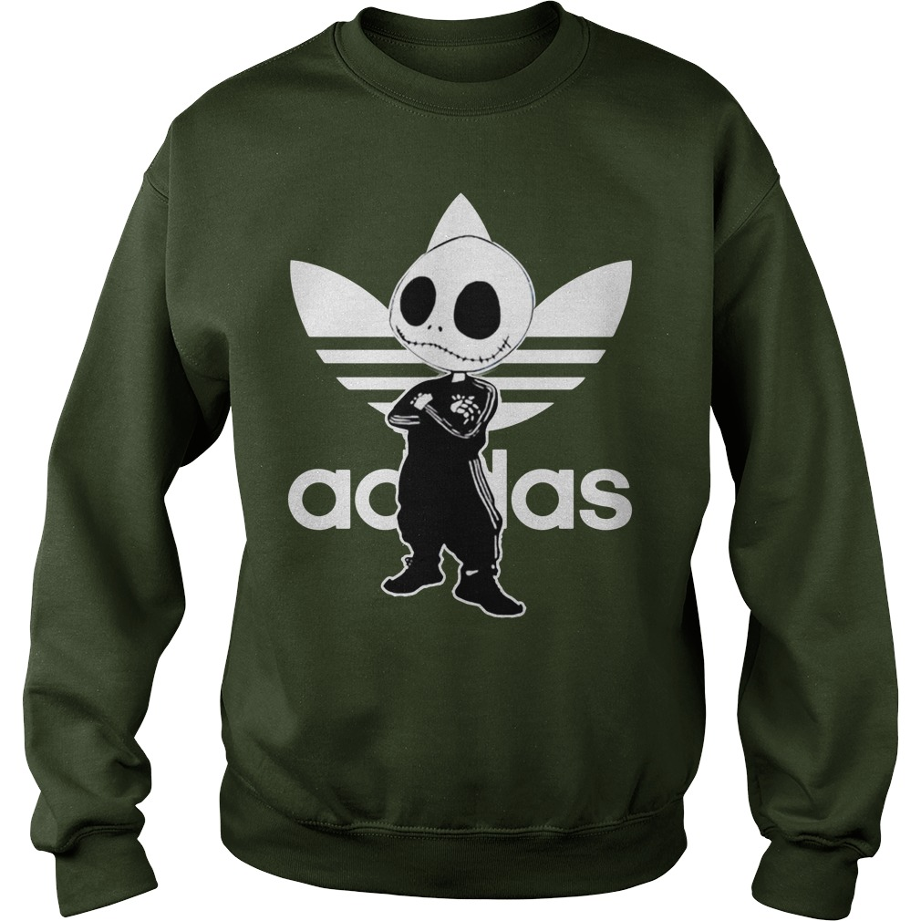 Jack Skellington adidas shirt sweat shirt