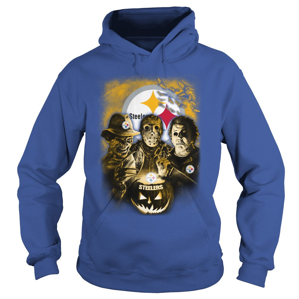 Jason, Michael Myers, Freddy Krueger Pittsburgh Steelers shirt hoodie