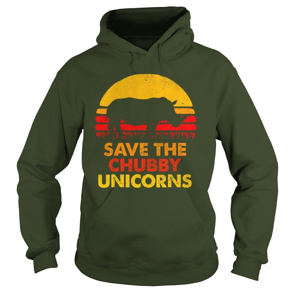 Save The Chubby Unicorns shirt hoodie