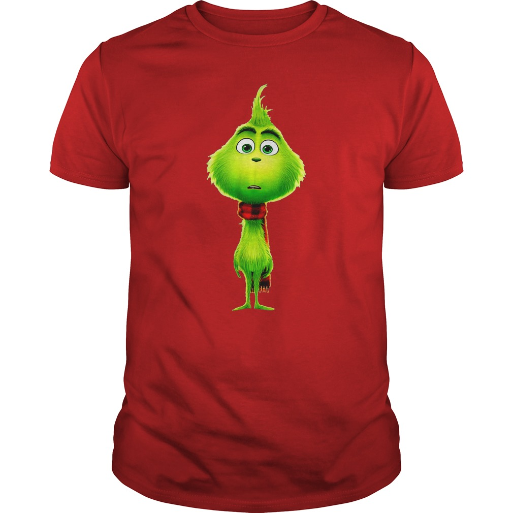 Baby green cute Grinches of Christmas shirt guy tee