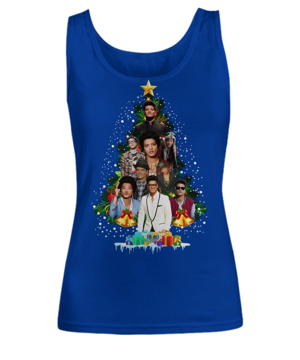 Bruno Mars Christmas tree shirt Women's Tank Top