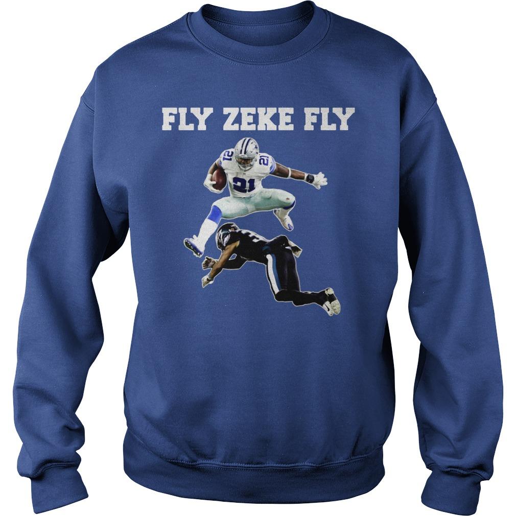Fly Zeke Fly shirt sweat shirt