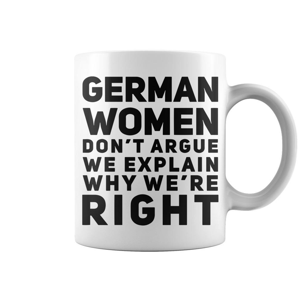 Irish women dont argue Mug