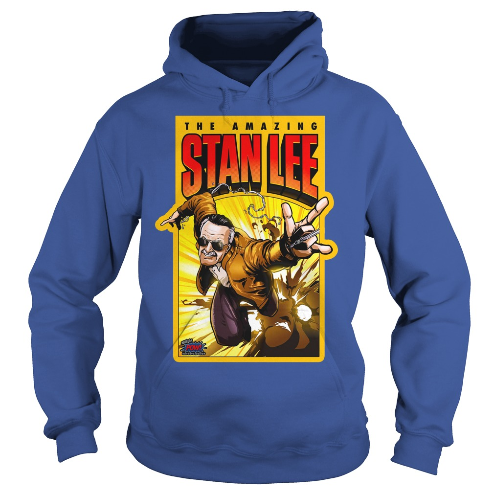 Pow! Entertainment's Amazing Stan Lee shirt hoodie