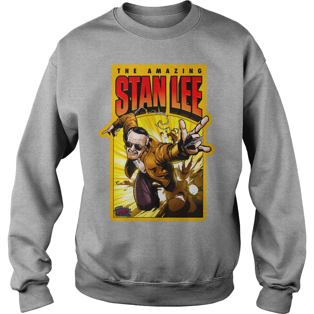 Pow! Entertainment's Amazing Stan Lee shirt sweat shirt