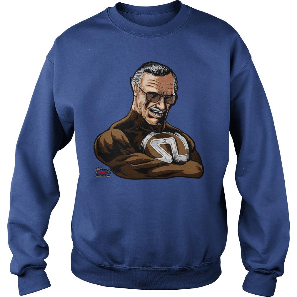Pow! Entertainment's Super Stan Lee shirt sweat shirt