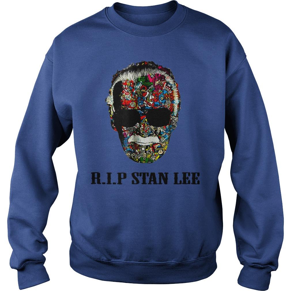 RIP Stan Lee shirt sweat shirt