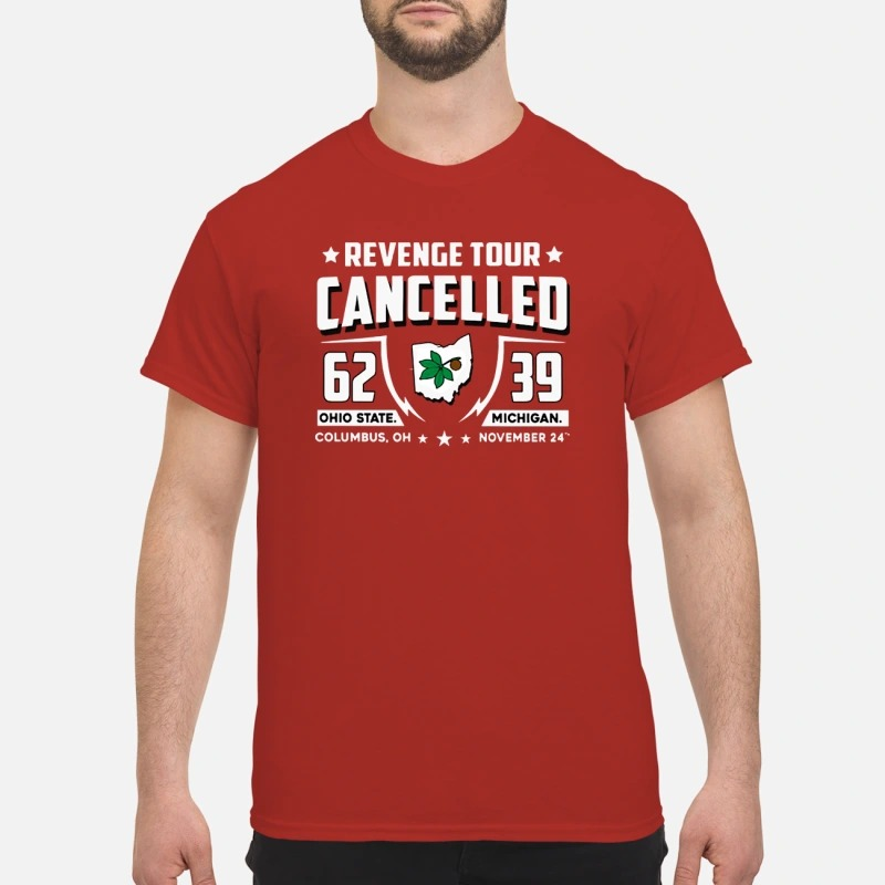 Revenge tour cancelled 62 Ohio State 39 Michigan shirt Classic Men's T-shirt
