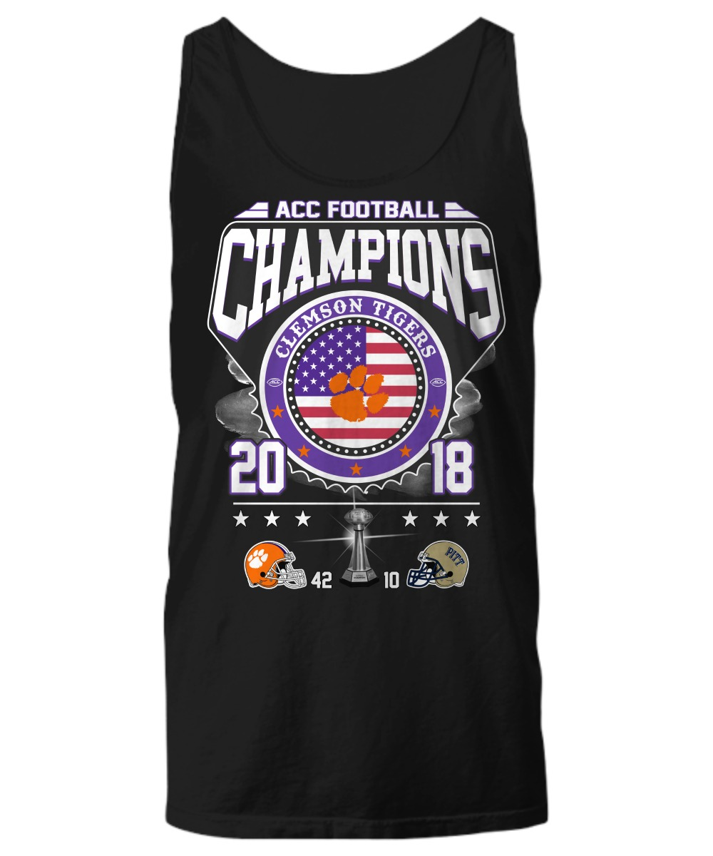 Acc football Champions Clemson Tigers shirt Unisex Tank Top