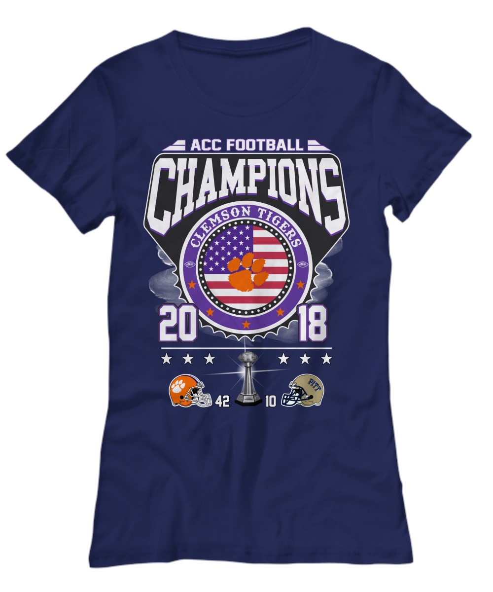 Acc football Champions Clemson Tigers shirt Women's Tee