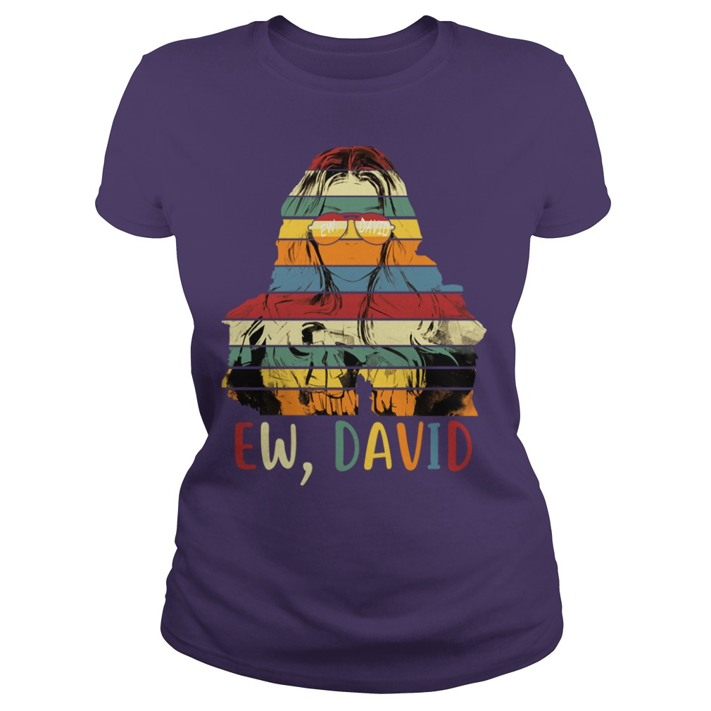 Alexis Ew David Retro shirt lady tee