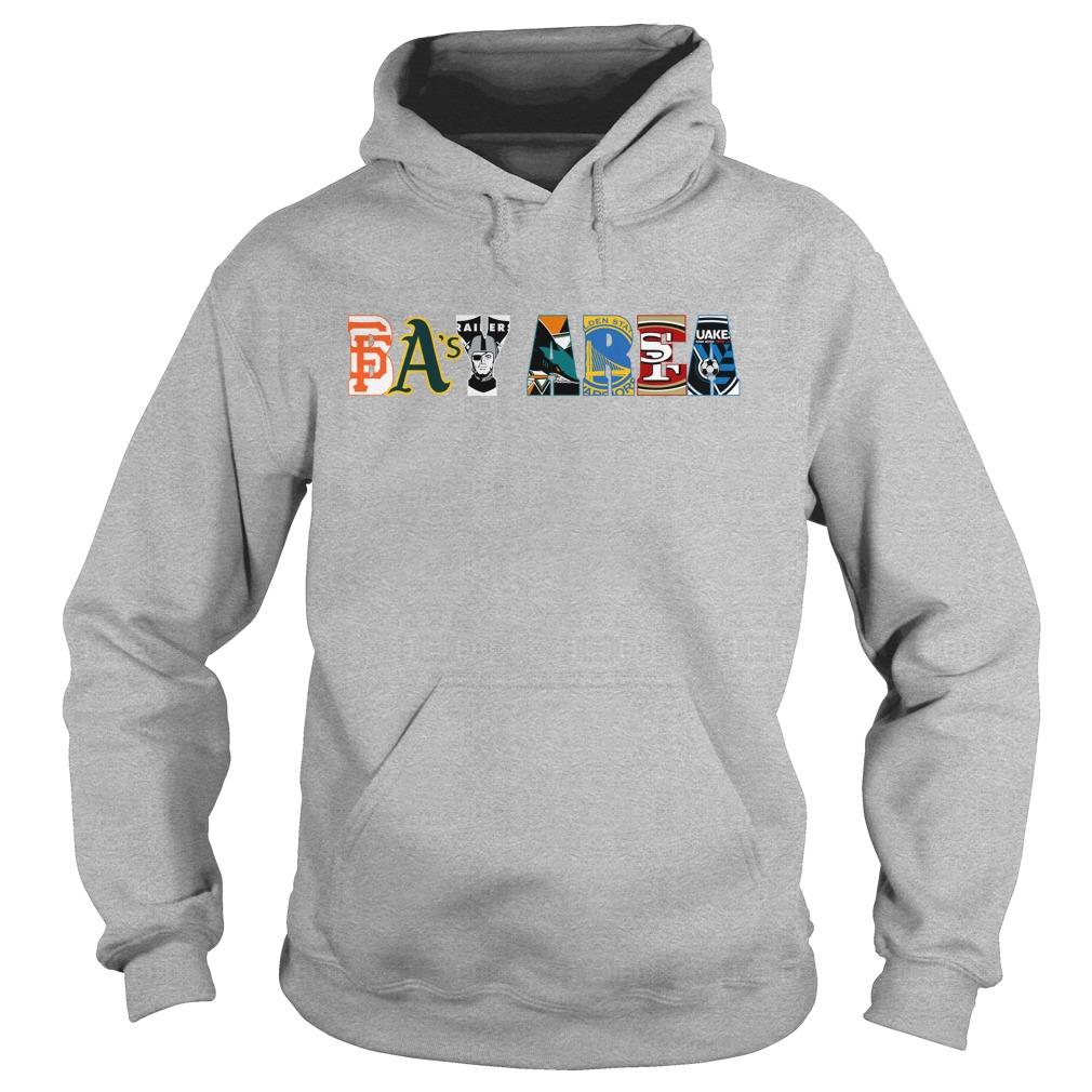 Bay Area Sports Teams shirt hoodie