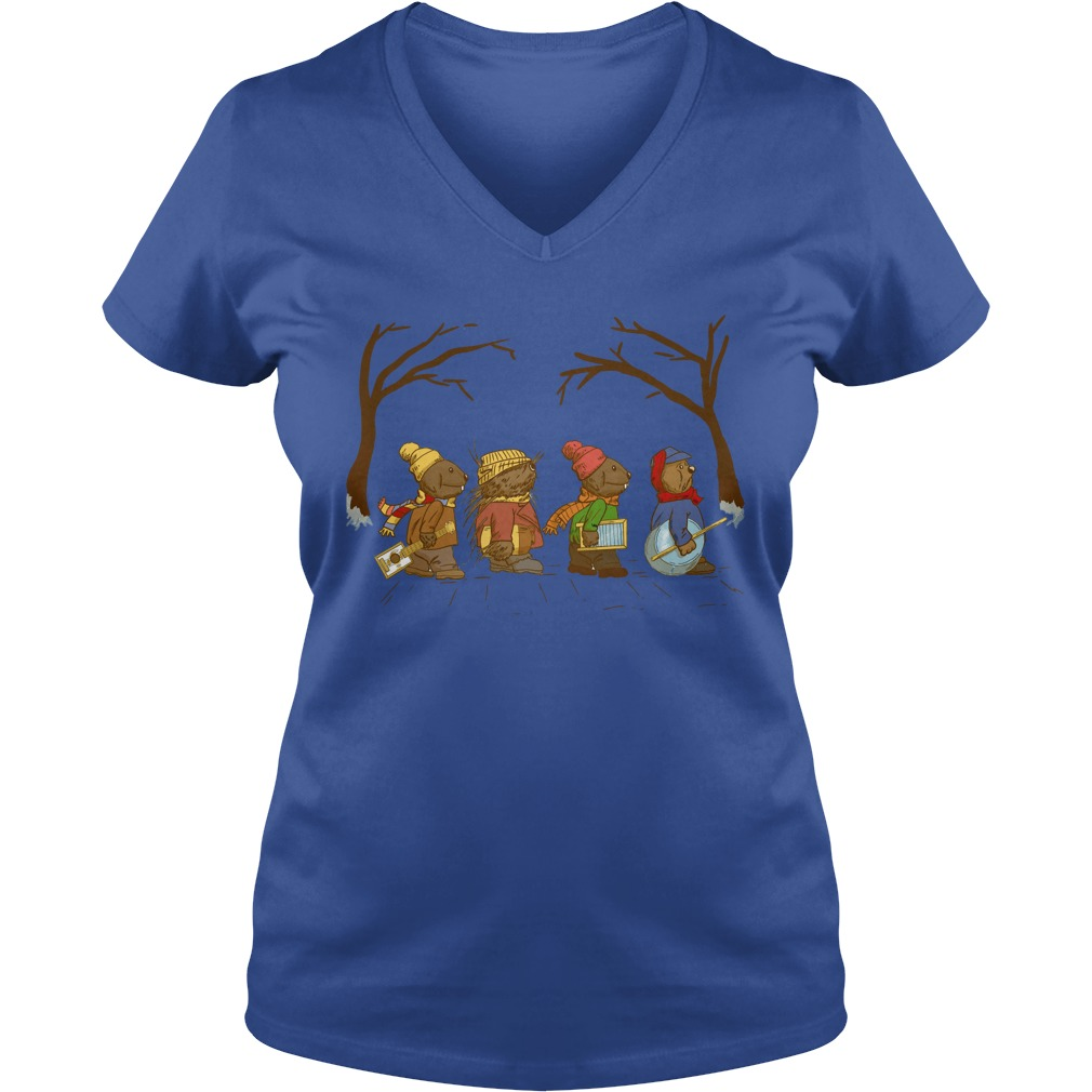Jug Band Road - Emmet Otter shirt lady v-neck