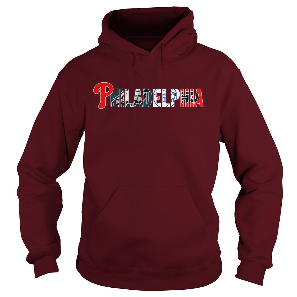 Philadelphia Sports Teams Logos shirt hoodie