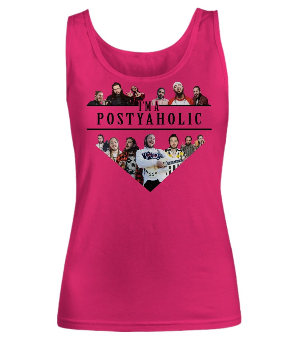 Post Malone I'm a Postyaholic shirt Women's Tank Top