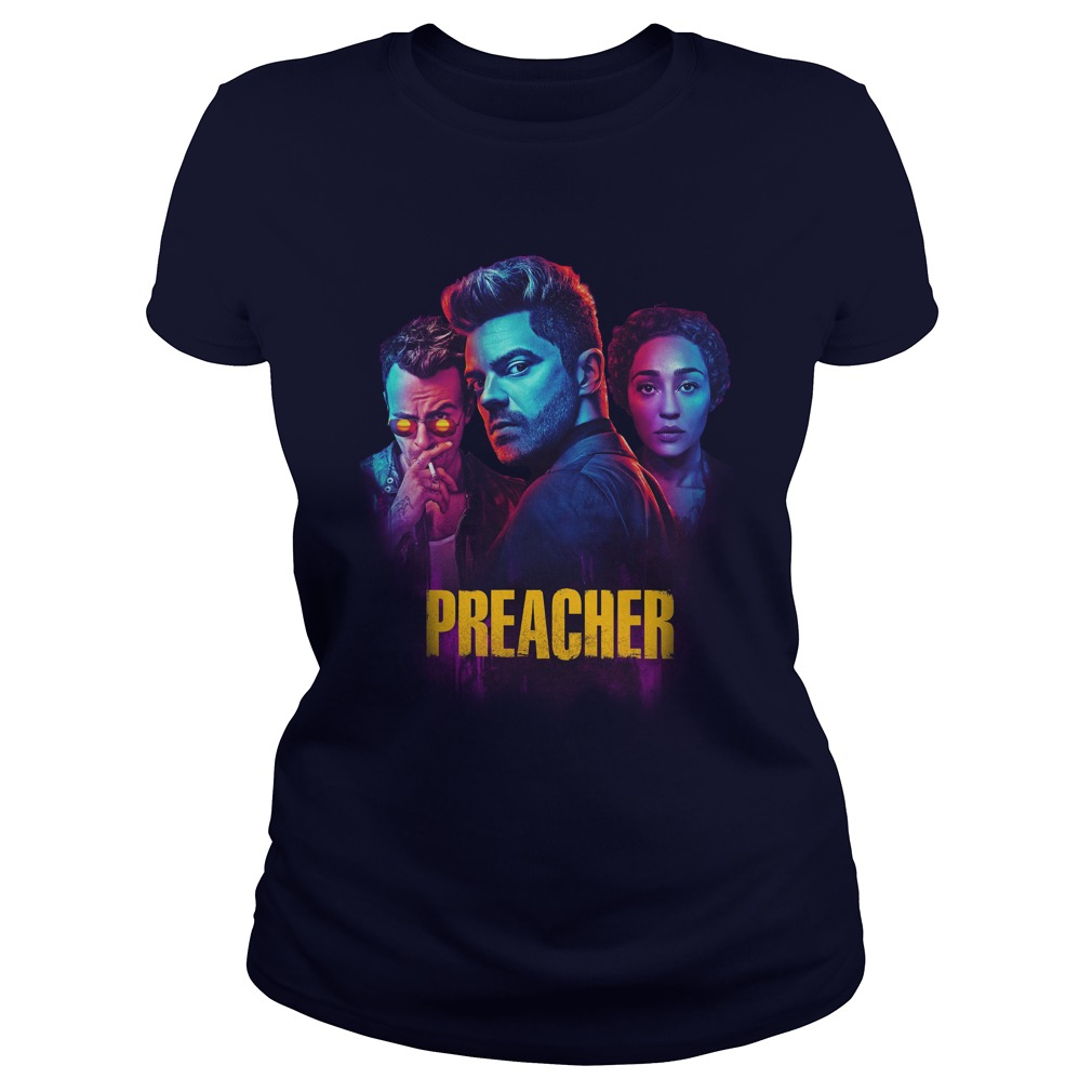 Preacher Season 2 Comic Book Cult Tv Show shirt lady tee