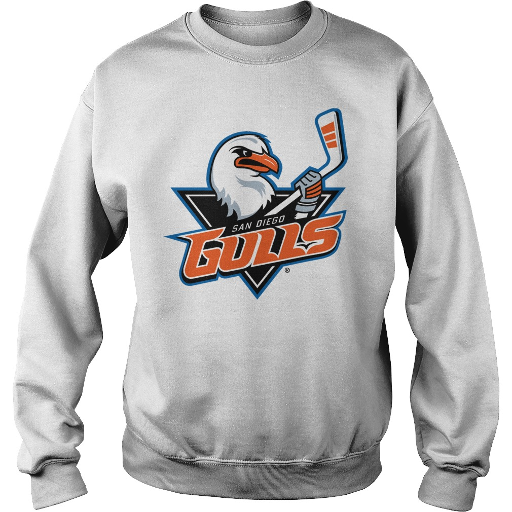San Diego Gulls Primary Logo shirt sweat shirt