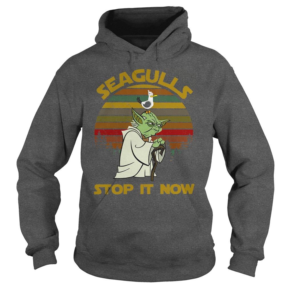 Star Wars Yoda - Seagulls Stop It Now shirt hoodie