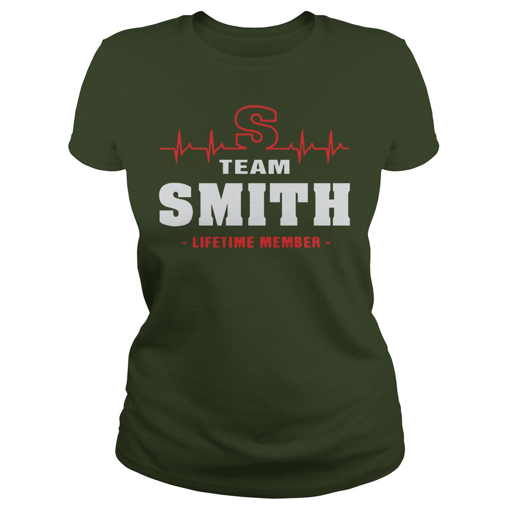 Team Smith lifetime member shirt lady tee