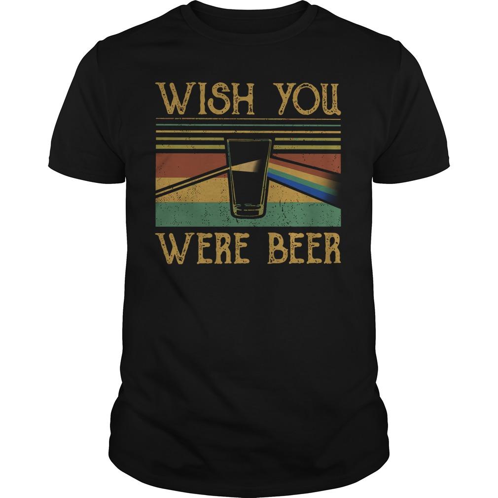 Wish You Were Beer Pink Floyd Shirt Lady Tee Hoodie