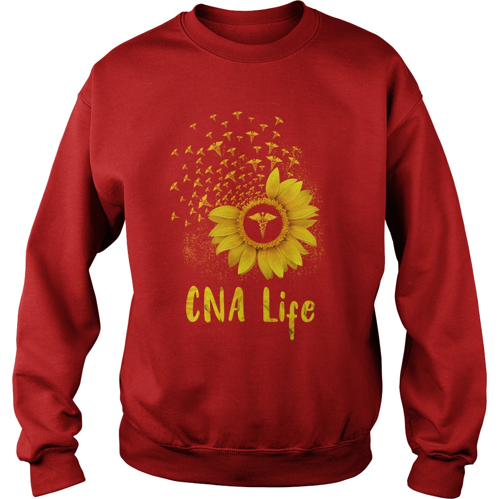 CNA Life Sunflower shirt sweat shirt