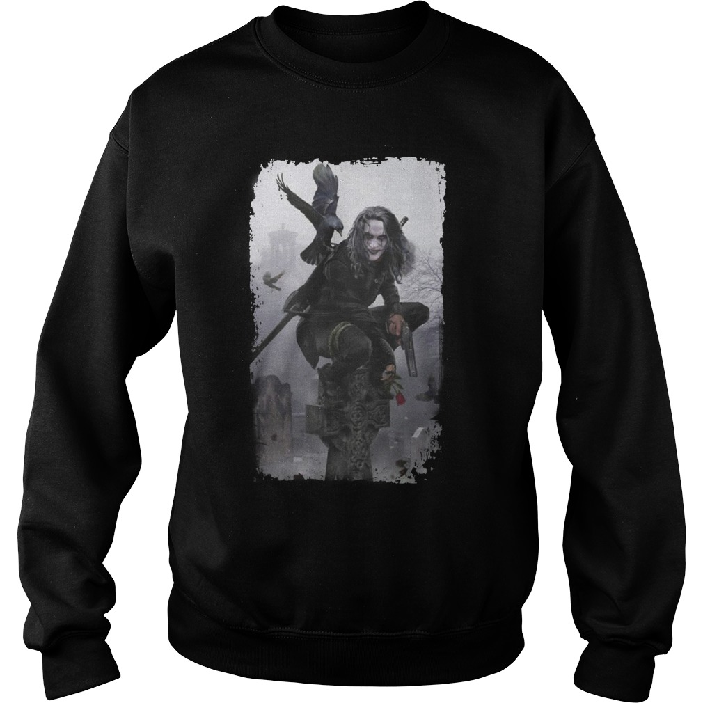 The Crow Brandon Lee Movie shirt sweat shirt