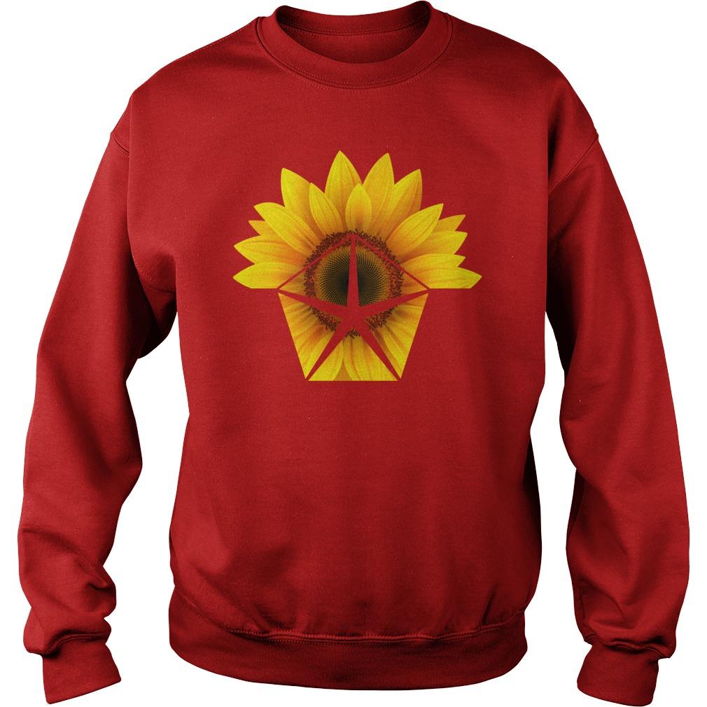 Sunflower Chrysler shirt sweat shirt