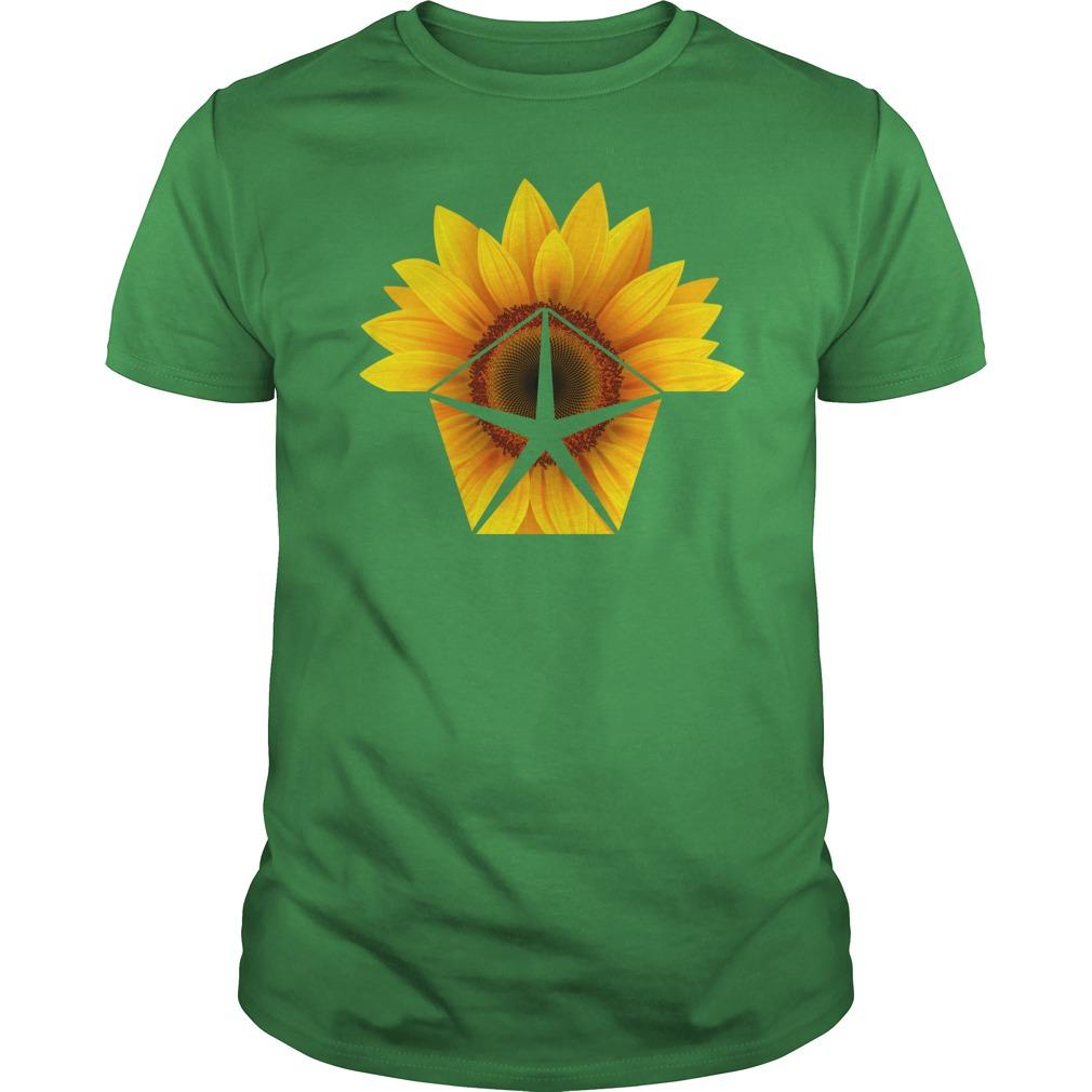 Sunflower Chrysler shirt unisex tee