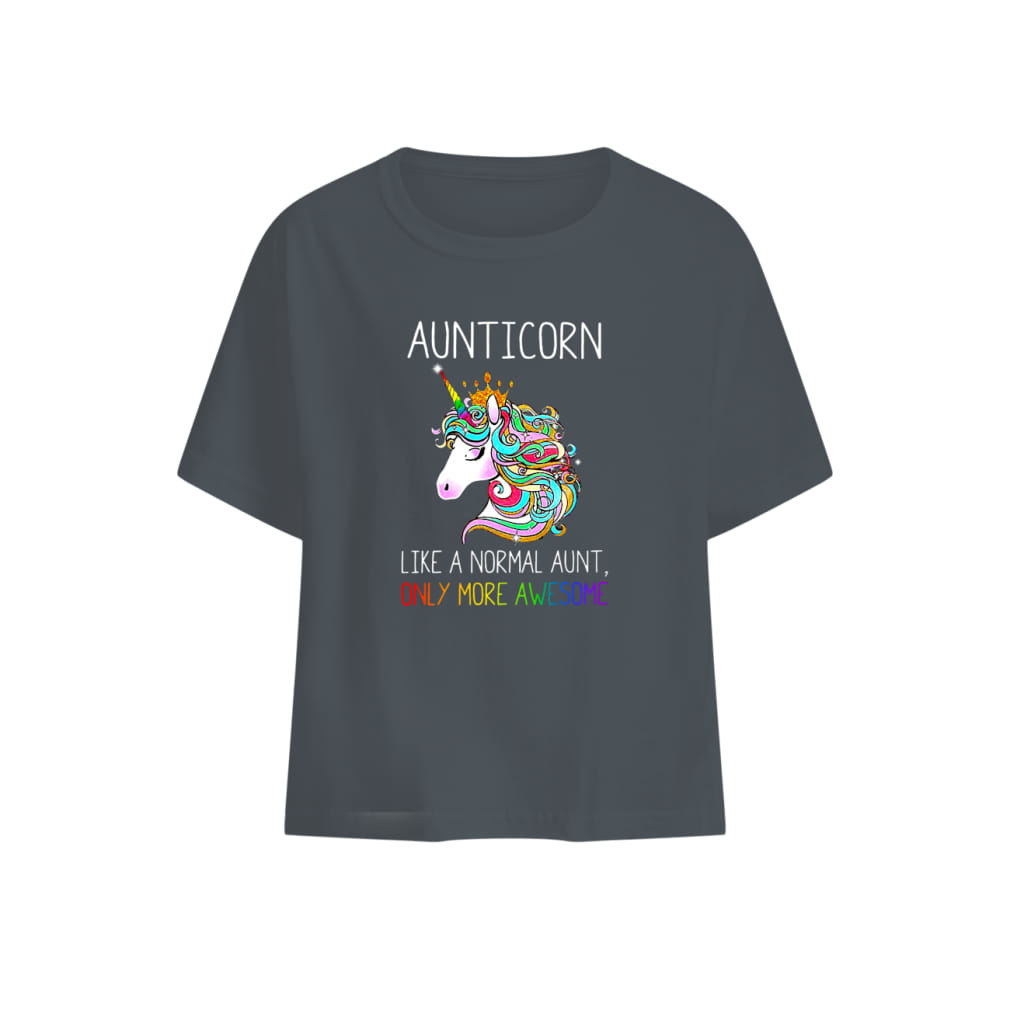 Aunticorn like a normal aunt only more awesome shirt baby t-shirt