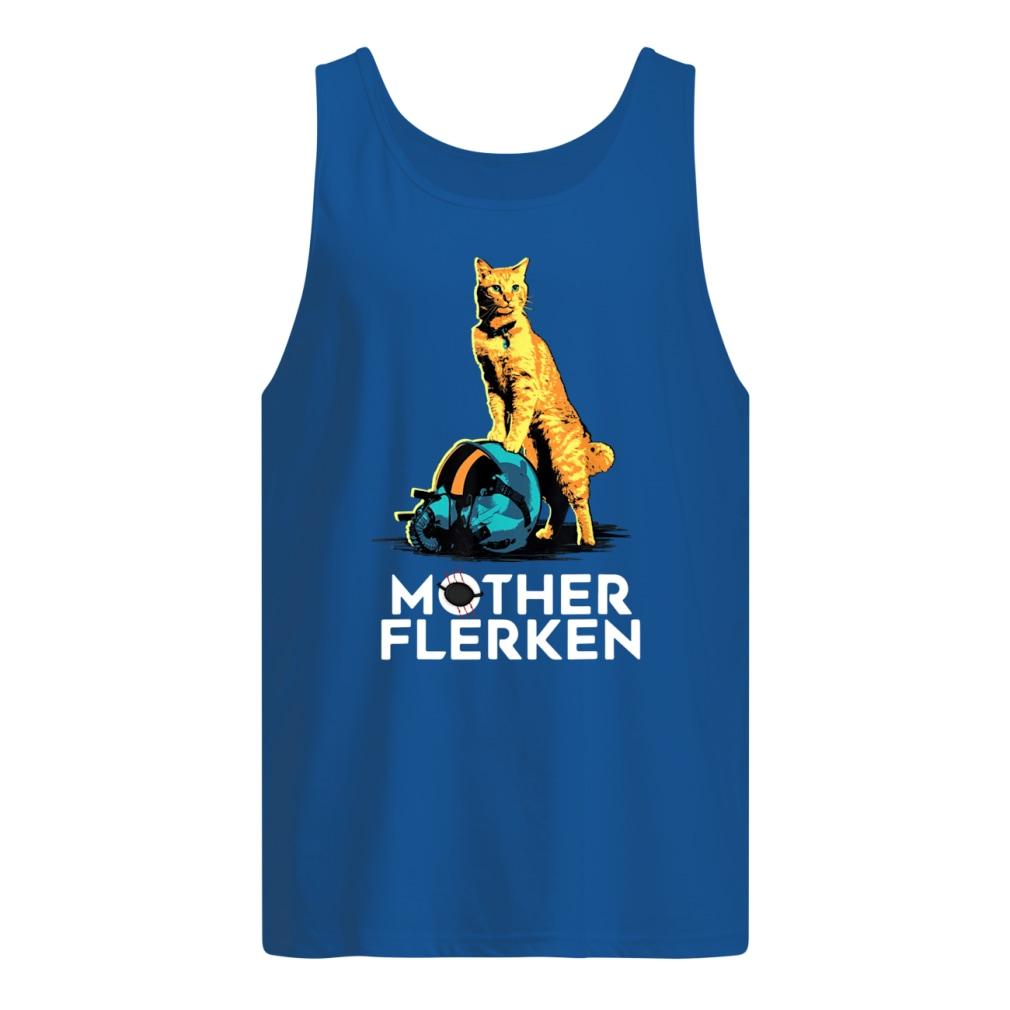 Captain Marvel Goose The Cat Mother Flerken shirt men's tank top