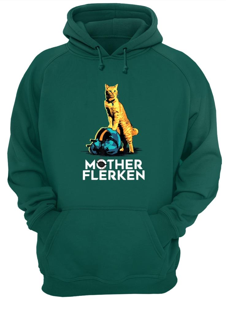 Captain Marvel Goose The Cat Mother Flerken shirt unisex hoodie