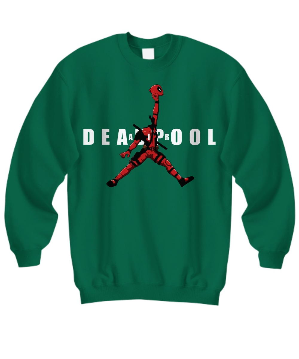 Deadpool jordan jumpman air shirt Sweatshirt