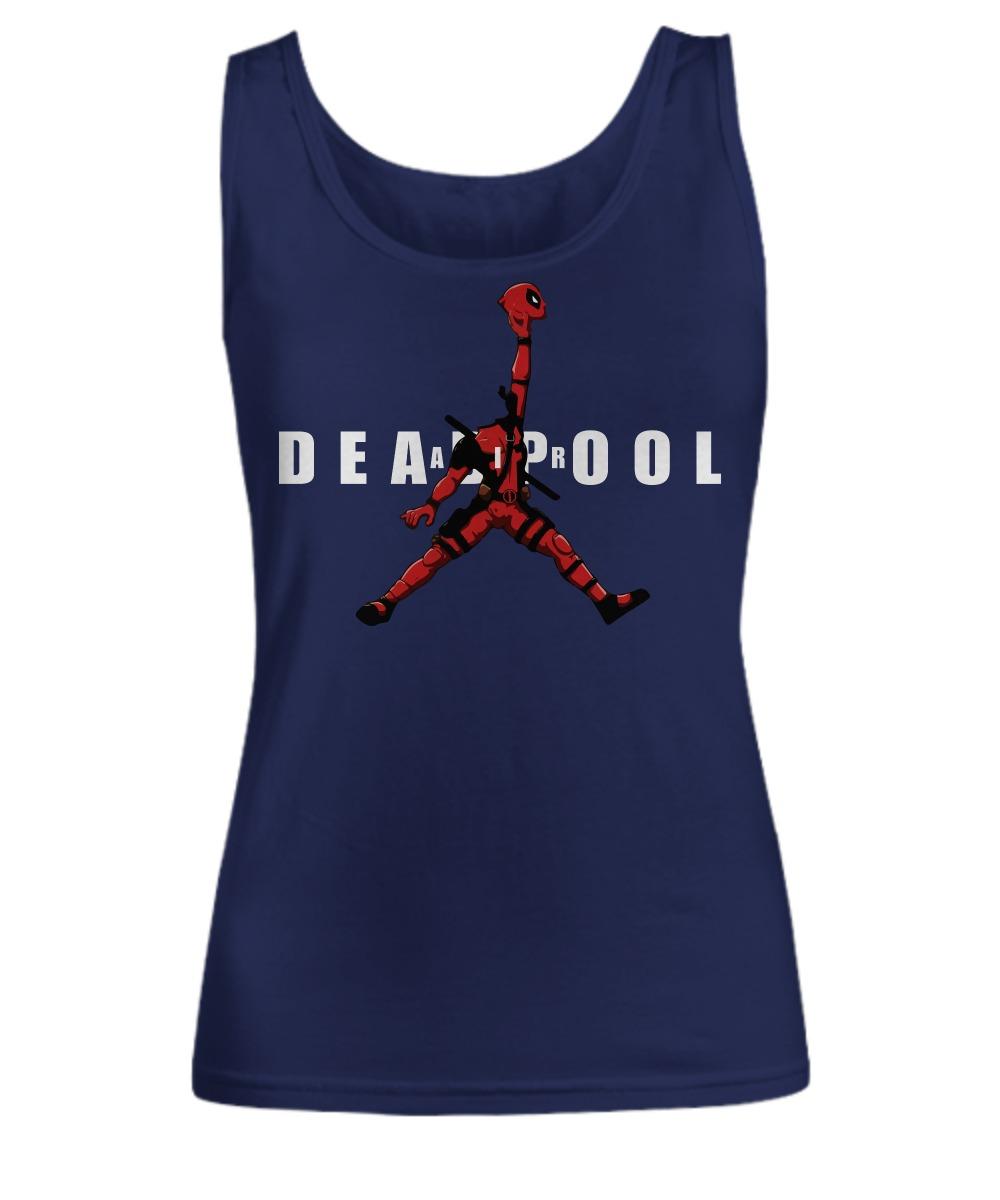 Deadpool jordan jumpman air shirt Women's Tank Top