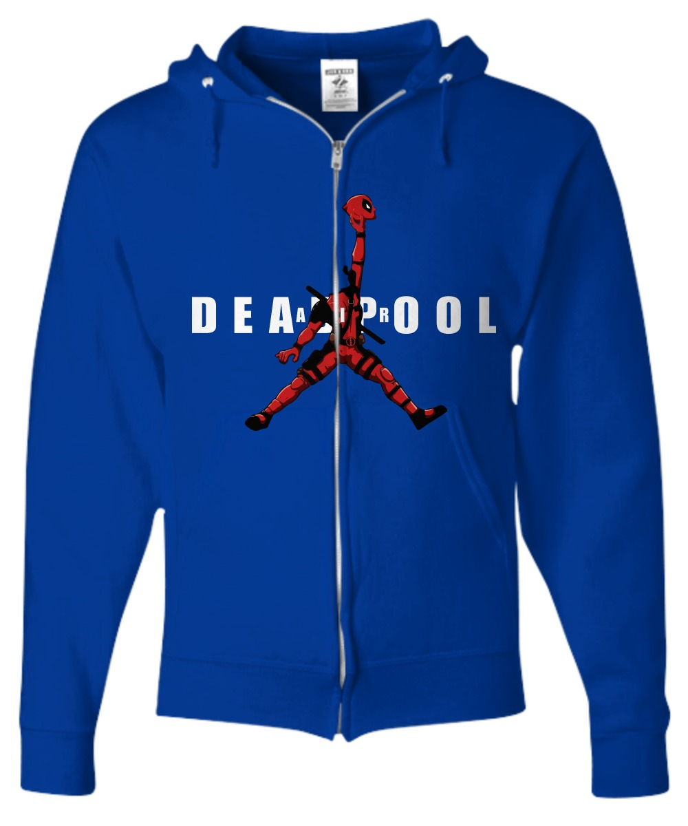 Deadpool jordan jumpman air shirt Zip Hoodie