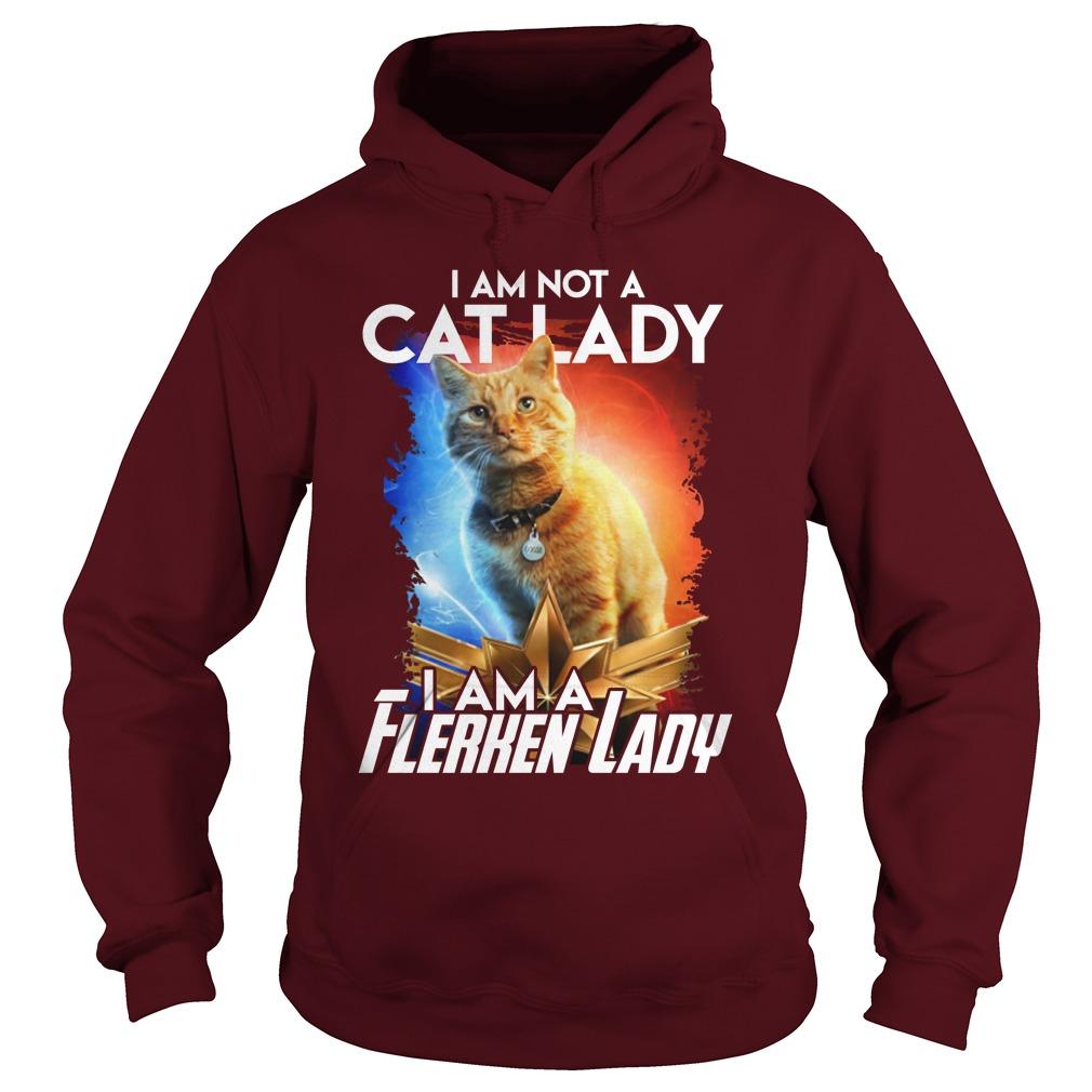 Goose cat I am not a cat lady I am a Flerken lady shirt hoodie